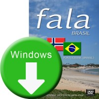 Fala Brasil for Windows. Nedlastbar versjon (164MB)