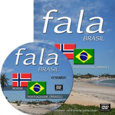 DVD-rom. Fala Brasil for windows og Mac